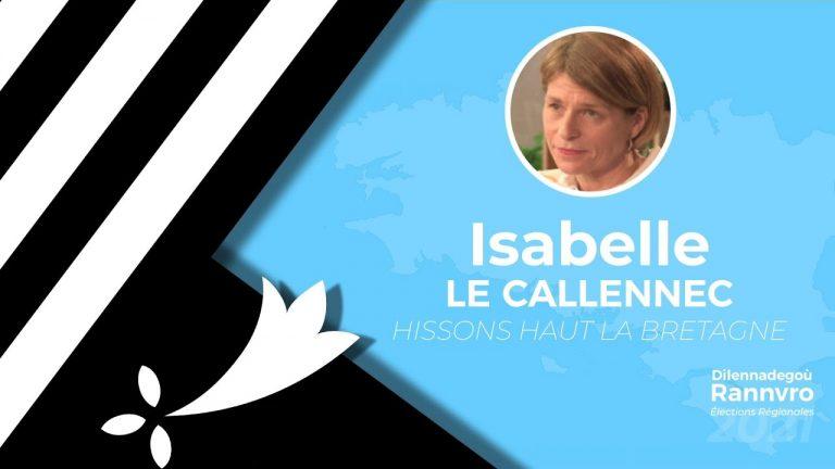 Régionales 2021. Isabelle Le Callennec interrogée par Brezhoweb sur les thématiques bretonnes (Langue, culture, identité)