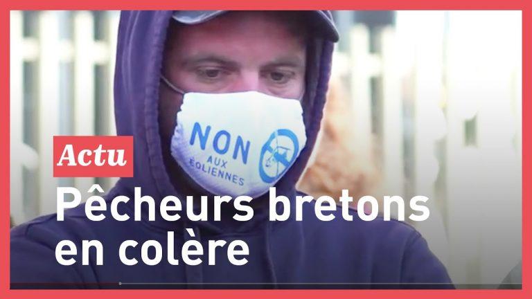 Les pêcheurs bretons mobilisés contre le projet d'éoliennes en mer : la Gendarmerie et la Marine nationale en renfort des promoteurs ?