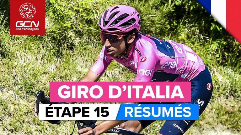 Cyclisme. Victor Campenaerts s'offre la 15ème étape du Tour d'Italie avant une journée annoncée dantesque