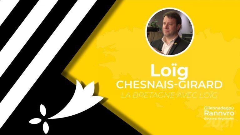 Régionales 2021. Loïg Chesnais-Girard  interrogé par Brezhoweb sur les thématiques bretonnes (Langue, culture, identité)