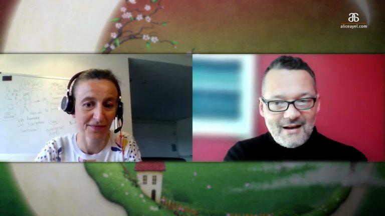 Apprentissage du Breton. Un dialogue intéressant entre Alice Ayel et Daniel Kline