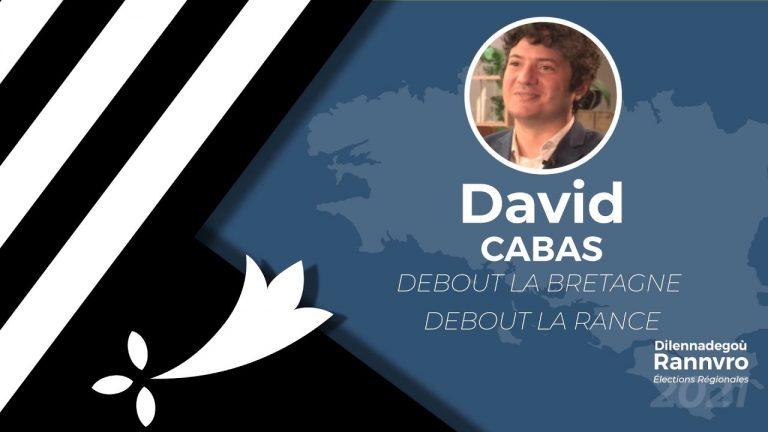 Régionales 2021. David Cabas interrogé par Brezhoweb sur les thématiques bretonnes (Langue, culture, identité)