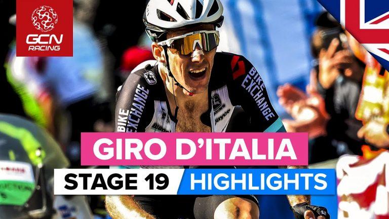 Simon Yates remporte la 19ème étape du Giro. Dernière étape de montagne en vue