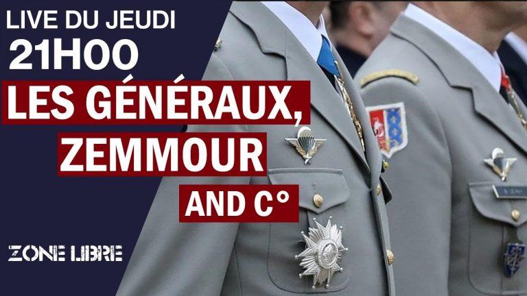 Les Généraux, Zemmour, Napoléon… Et Toute l'Actu De Droite