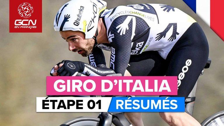 Cyclisme, Tour d'Italie. Ganna remporte la première étape du Giro