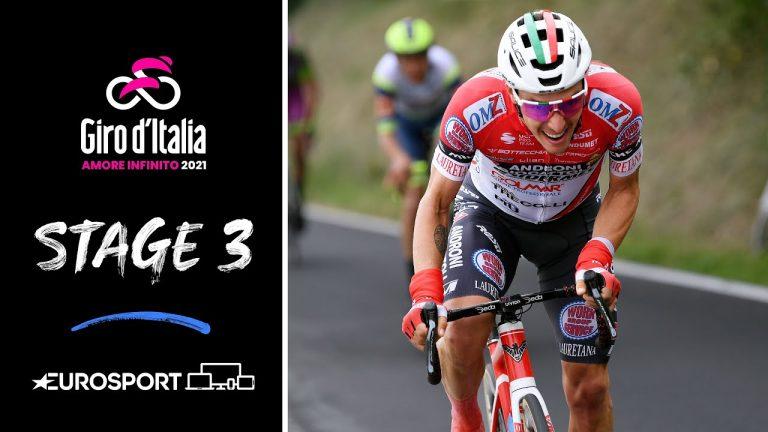 Cyclisme. Taco Van Der Hoorn, à l'ancienne, remporte la 3ème étape du Giro !