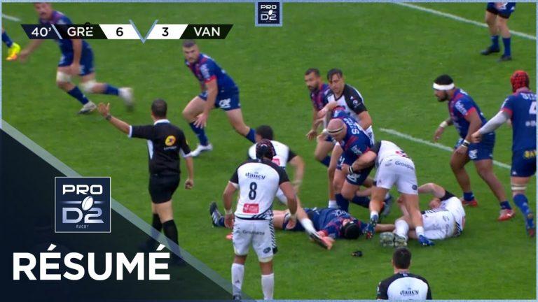 Rugby. Le RC Vannes battu à Grenoble (13-6)
