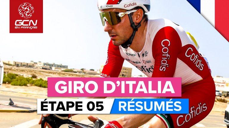 Tour d'Italie (cyclisme). Caleb Ewan remporte la 5e étape du Giro 2021