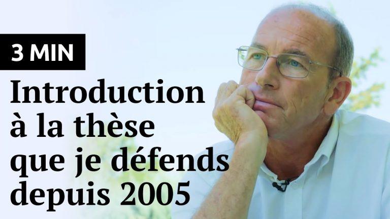 Etienne Chouard : Introduction à la thèse que je défends depuis 2005