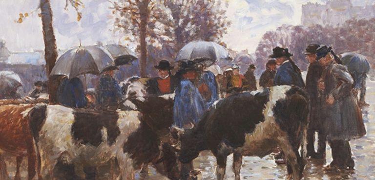 Le paysan breton dans la peinture. Une exposition au musée du Faouët