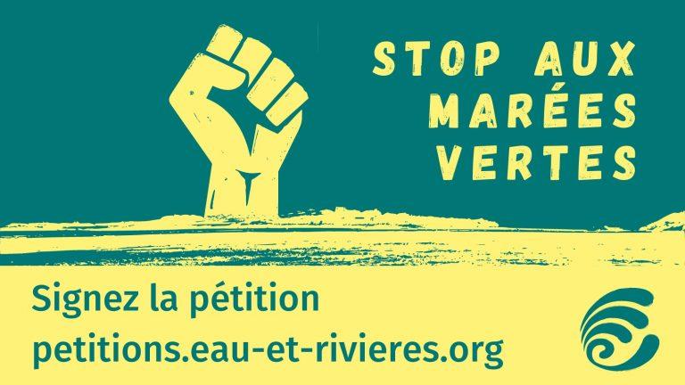 Stop aux marées vertes. Une pétition contre les conséquences des algues vertes en Bretagne