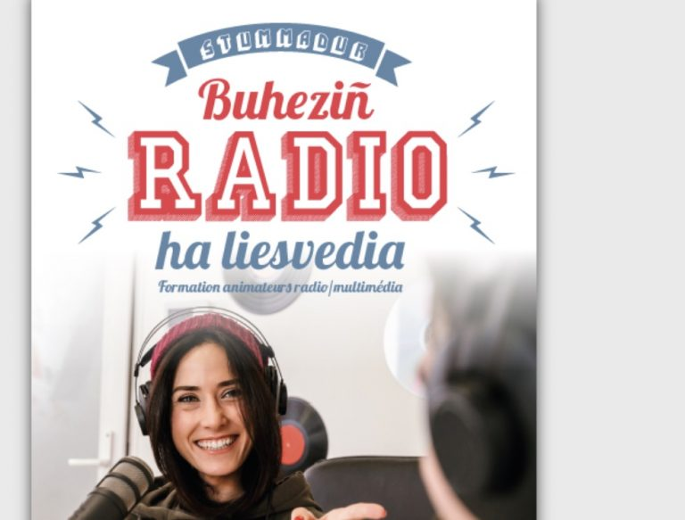 Une nouvelle formation d'animateur radio, en langue bretonne evel-just !