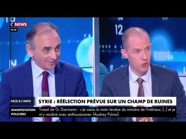 Eric Zemmour : « On a l'impression qu'on vit toujours la guerre d'Algérie. On passe son temps à battre notre coulpe »
