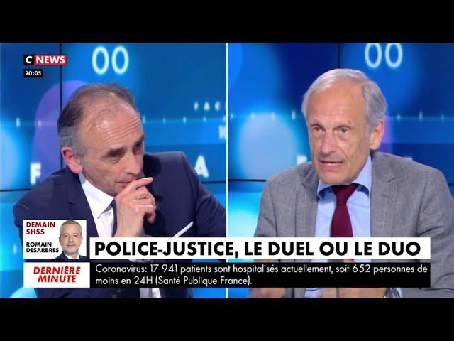 Eric Zemmour : « 8 Français sur 10 estiment que la Justice est trop laxiste »