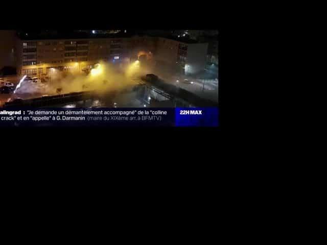 Tiers monde à Paris. Des consommateurs de cracks chassés par des riverains à coup de feux d'artifice