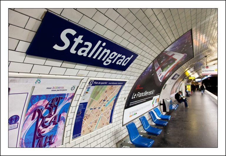 Retour à Stalingrad….en plein Paris ! [L'Agora]