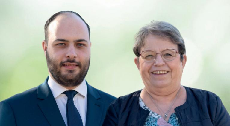 Deux binômes du Rassemblement National pour l'estuaire, Saint-Nazaire et la Brière