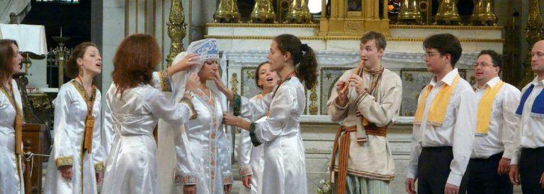 Musique. Le choeur de la Société Philharmonique de Saint-Petersbourg en représentation à Dinard