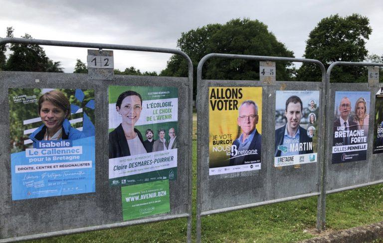 Régionales 2021 en Bretagne. Les nouveaux élus britto-compatibles