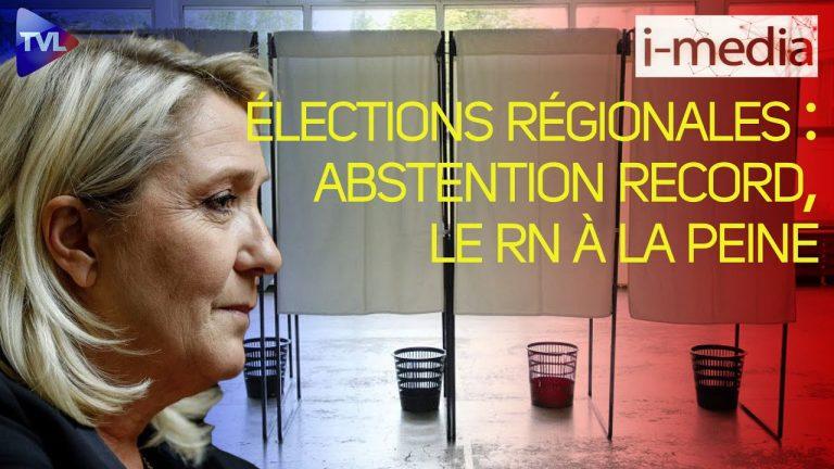 I-Média n°354 – Élections régionales : abstention record, le RN à la peine [Vidéo]