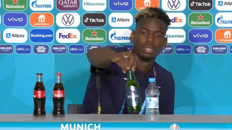 Euro 2021. Retrait des bouteilles Heineken par l'UEFA : Pogba, Benzema et les joueurs musulmans plus forts que les sponsors [Vidéo]