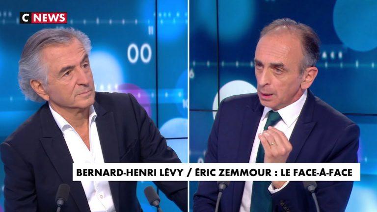 Eric Zemmour face à BHL : « Vous favorisez l'immigration ! Vous prônez la guerre chez eux, et vous les faites venir chez nous. Moi, je veux exactement le contraire »