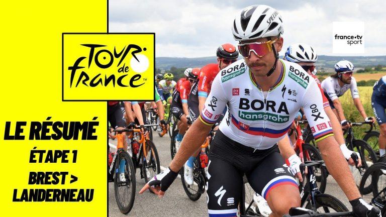 Tour de France 2021. Julian Alaphilippe triomphe à Landerneau et prend le maillot jaune