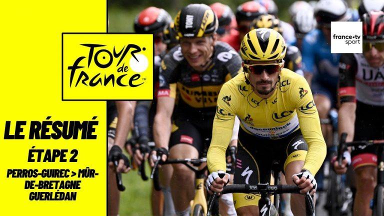 Cyclisme. Mathieu Van der Poel réalise un numéro d'exception à Mûr de Bretagne et prend le maillot jaune