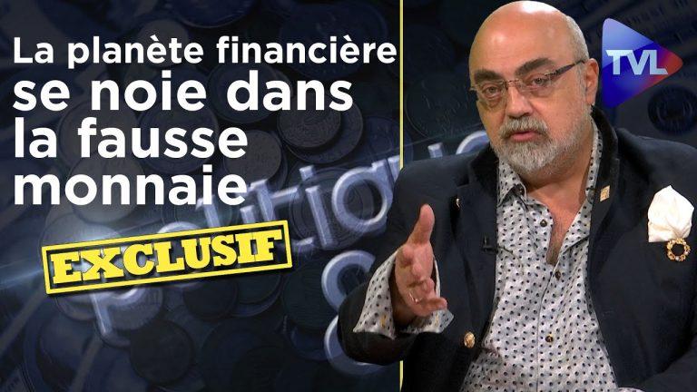 La planète financière se noie dans la fausse monnaie – Politique & Eco 305 avec Pierre Jovanovic