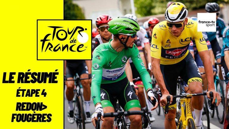 Cyclisme. Mark Cavendish remporte la 4ème étape du Tour de France à Fougères