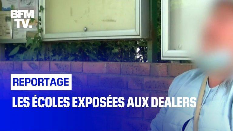 BFMTV en reportage à Rennes et sa municipalité qui bâche des écoles plutôt que d'appeler à neutraliser les dealers