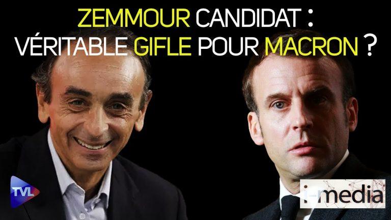 I-Média n°352 – Zemmour candidat, la vraie gifle pour Macron ?