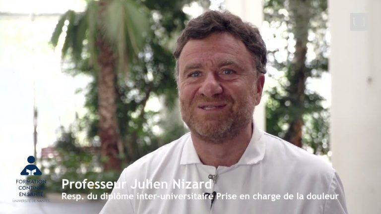 Entretien avec le Pr Julien Nizard – Responsable du DIU Prise en charge de la douleur