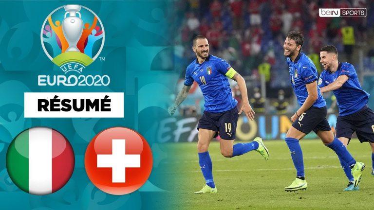 Euro 2021. Les résumés d'Italie-Suisse, Turquie-Pays de Galles et Finlande-Russie