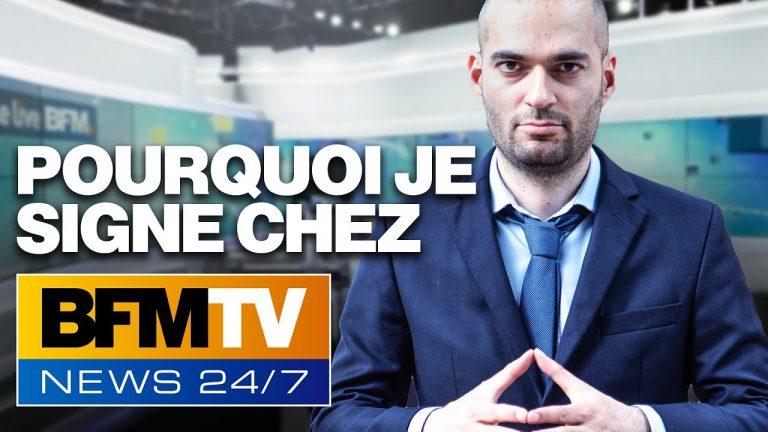 Vincent Lapierre rejoint BFMTV : il s'explique !