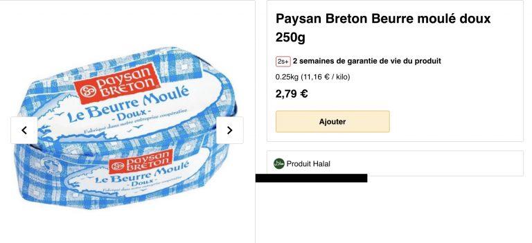 Quand Paysan Breton (Eureden) fait certifier des produits…halal