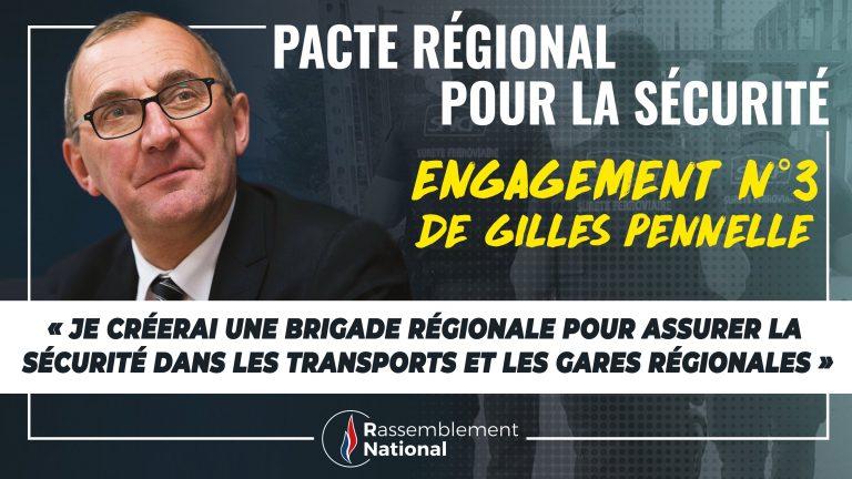 Régionales 2021. Que contient le pacte régional pour la sécurité proposé par Gilles Pennelle (RN) ?