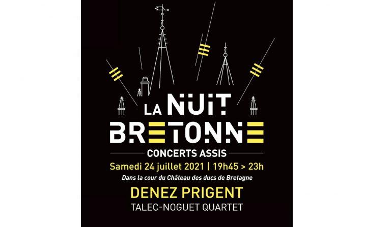 Nantes. La Nuit bretonne revient le 24 juillet avec Talec-Noguet Quartet et Denez Prigent.