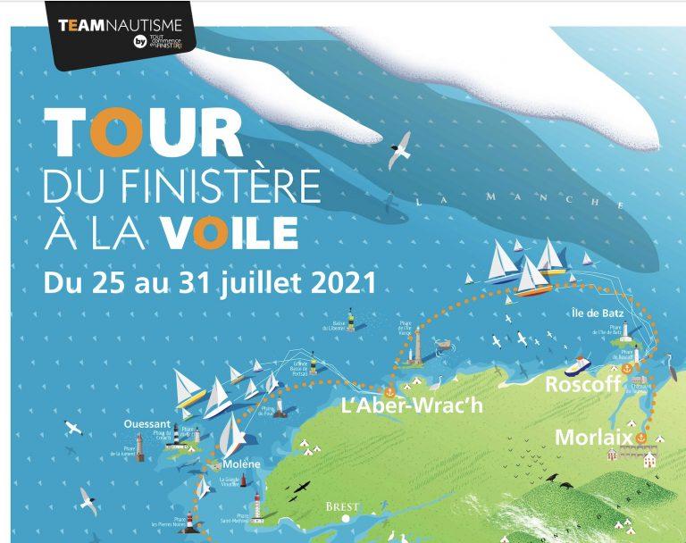 La 35ème édition du Tour du Finistère à la voile, du 25 au 31 juillet