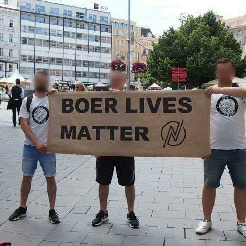 #Boerslivesmatter, l'anti #BLM reprend de la vigueur !