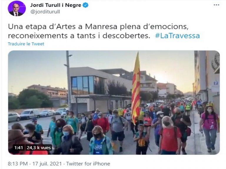 La Travessa: Jordi Turull a-dreuz Katalonia