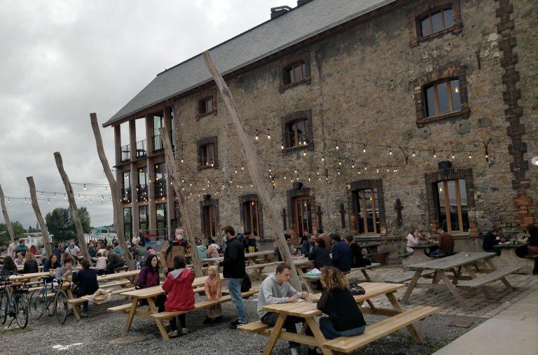 LAB: comme un restaurant d'altitude, mais en bord de Loire