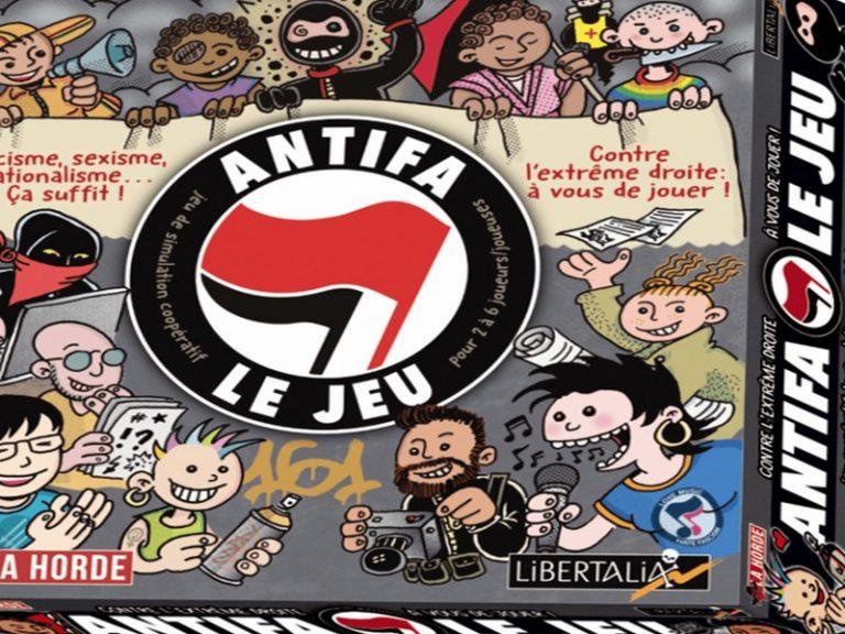 Aux frontières du grotesque : Antifa le jeu