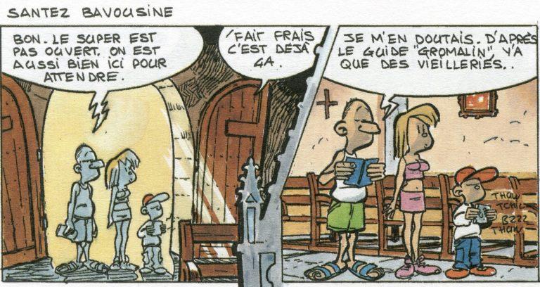 4 nouvelles planches des aventures de Torr'Pen, signé Le Honzec
