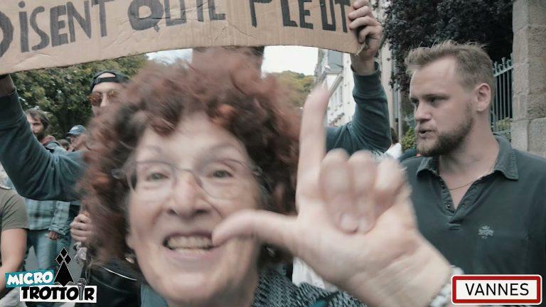 Vannes. Retour sur la manifestation du 24 juillet contre le pass sanitaire [Reportage vidéo]