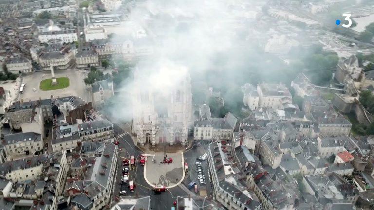 Entretien avec Marc Le Bourhis à propos de l'incendie de la cathédrale de Nantes