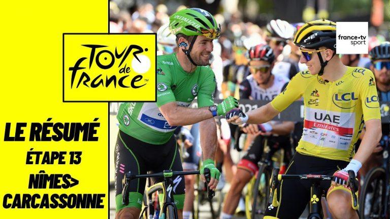 Tour de France Cyclisme. Mark Cavendish égale le record de victoires d'Eddy Merckx en s'imposant au sprint à Carcassonne
