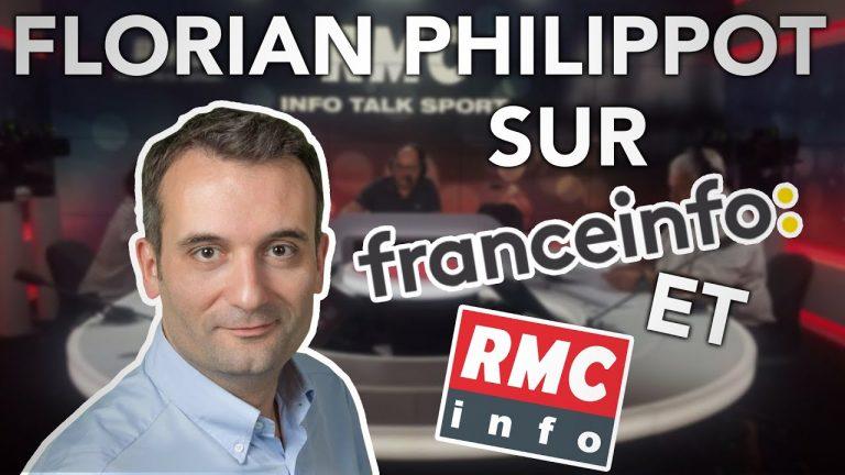 Tyrannie sanitaire. Florian Philippot contre Macron : ça chauffe sur France Info TV et sur RMC !
