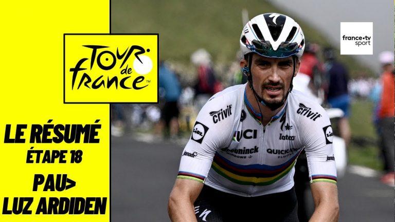 Tour de France 2021. Avec panache, Pogacar remporte la 18ème étape à Luz-Ardiden