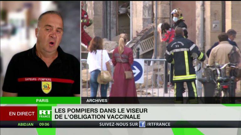 André Goretti, porte-parole de la FA/SPP-PATS, dénonce l'obligation vaccinale pour les pompiers